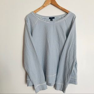 Gap | striped sweatshirt